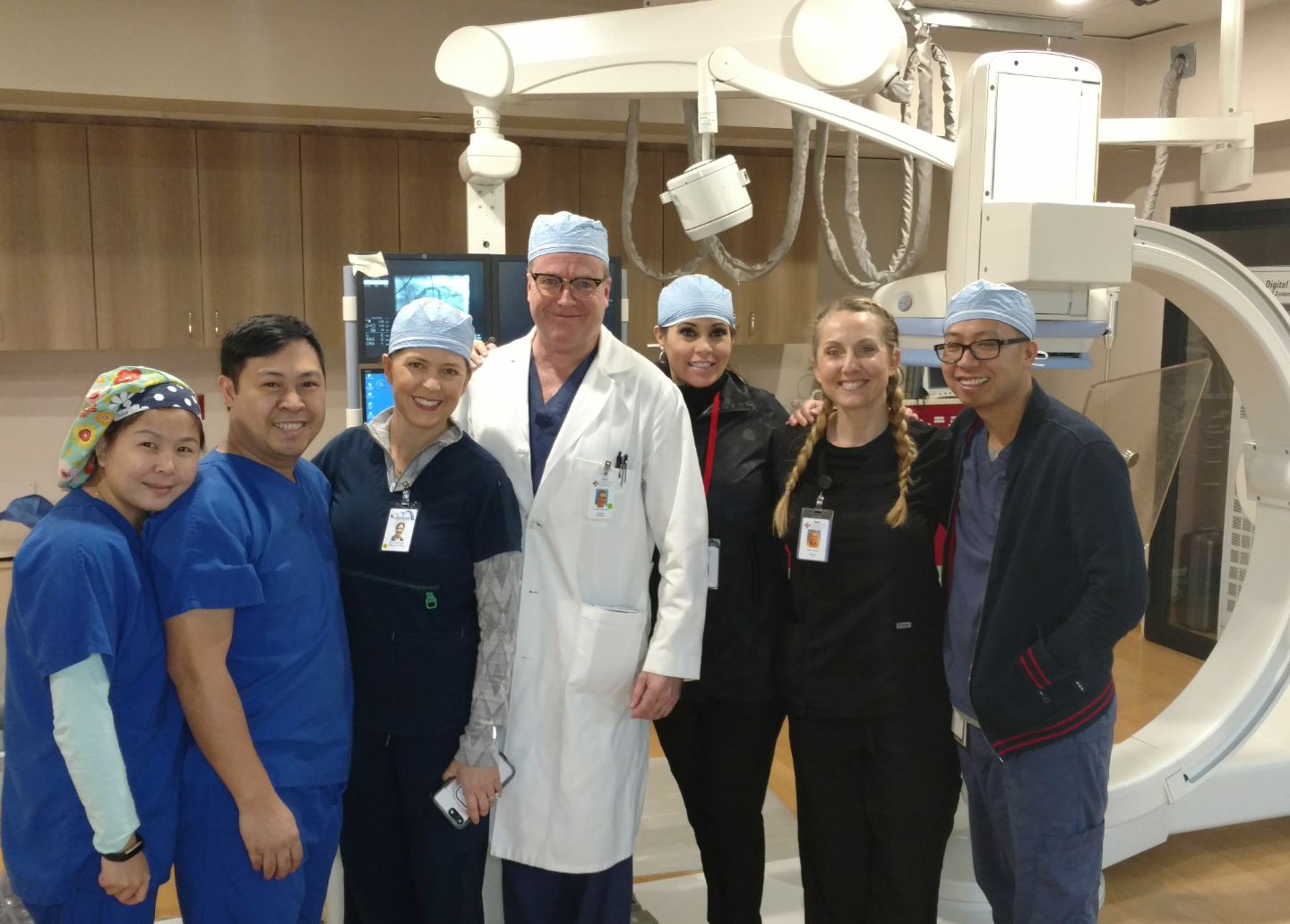 Cath Lab Staff