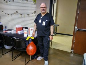 Free glucose testing and blood pressure at Taste of Texas pic1